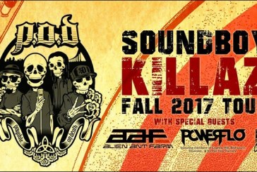 P.O.D. Launches Headlining Soundboy Killaz Tour