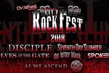 Seventh Day Slumber Launches GoFundMe To bring City Rockfest and Hope to Their Hometown