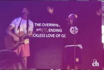 Justin Bieber Leads Worship At Coachella
