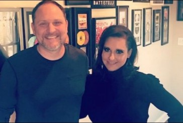 Natasha Owens In Studio Working on New Album with Producer Ian Eskelin