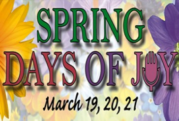 "Spring ""Days of Joy"" Volunteer Opportunity"