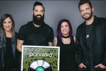 Skillet Joins Ranks of Pandora's Billionaires as 'Feel Invincible' Reaches Platinum Certification